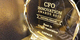 Coface is awarded 'Best in Credit Insurance' by CFO Innovation Asia