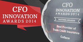 Coface is awarded 'Best Provider of Trade Credit Insurance' by CFO Innovation Asia for the second time in a row
